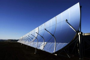 SkyFuel Solar Panel