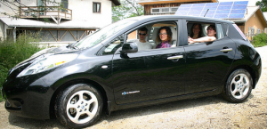 ELM financing was used to purchase the first electric car in the Dancing Rabbit Vehicle Co-op.