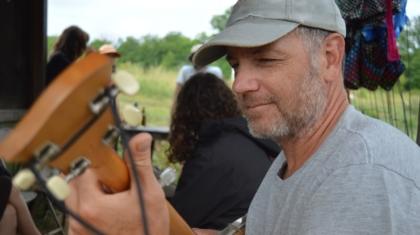 Mark Playing Banjo