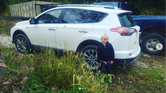 Arthur with the new Rav4